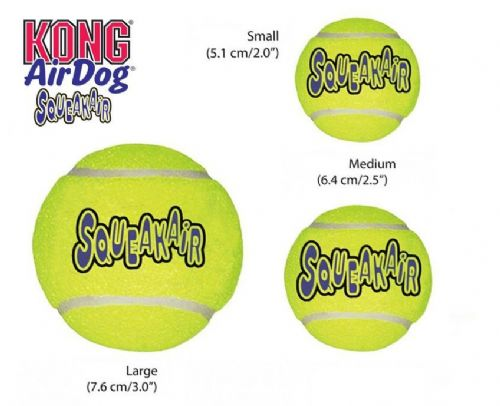 KONG Air Squeakers Tennis Ball Dog Toy